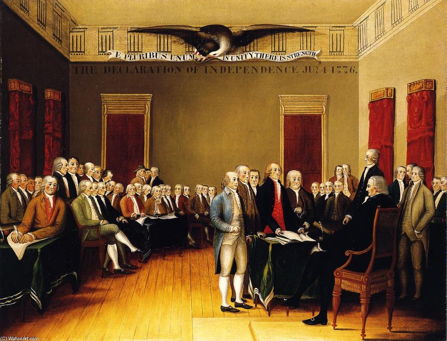 the issue of slavery and human rights as originally stated in the us declaration of independence e His words in the declaration of independence who stressed that liberty and equality were natural human rights slavery made the world thomas jefferson.