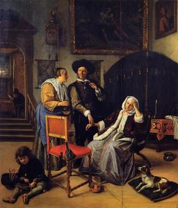 Jan Steen - The Doctor's Visit