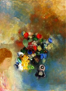 Odilon Redon - The Dream (also known as Thought)