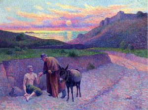 Maximilien Luce - The Good Samaritan