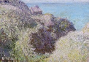 Claude Monet - The Gorge at Varengeville, Late Afternoon