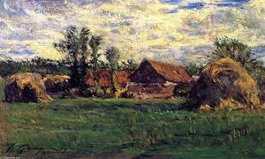 Paul Gauguin - Haystacks