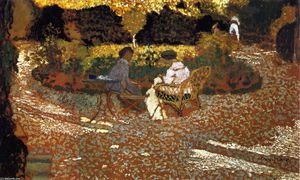 Jean Edouard Vuillard - In the Garden