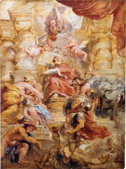 famous painting King James I of England of Peter Paul Rubens