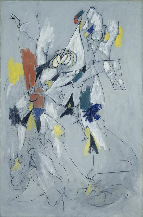 famous painting Waterfall of Arshile Gorky