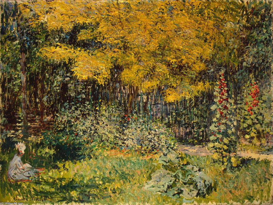 famous painting The Garden of Claude Monet