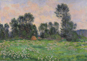 Claude Monet - Meadow in Giverny