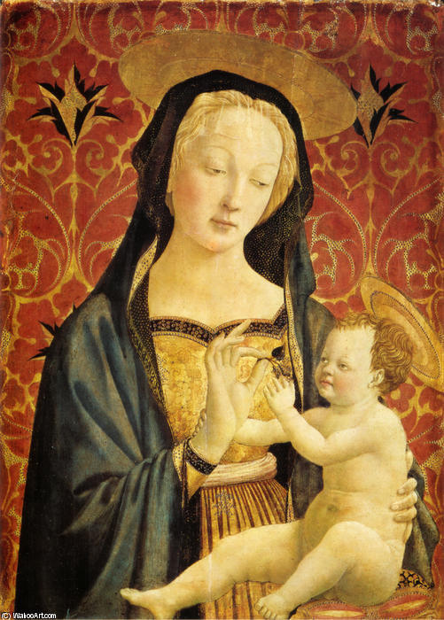 famous painting Madonna and Child of Domenico Veneziano