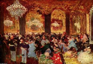 Edgar Degas - Dinner at the Ball