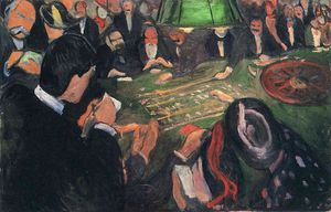 Edvard Munch - By the Roulette