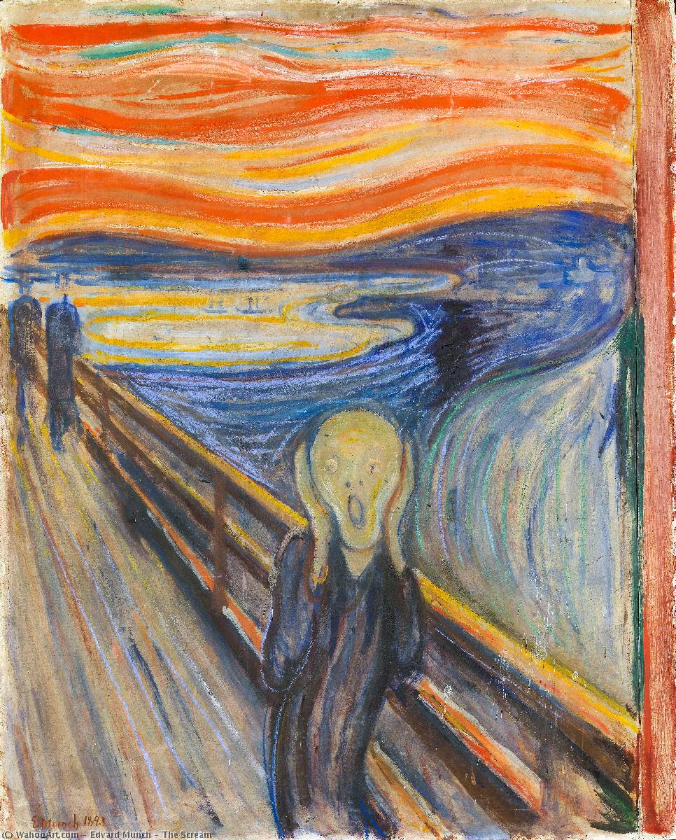 Order Museum Quality Copies | The Scream by Edvard Munch | Most-Famous-Paintings.com