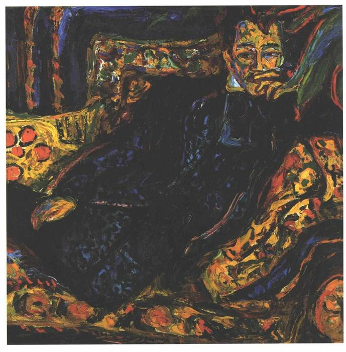 Order Reproductions | Portrait of Hans Frisch by Ernst Ludwig Kirchner | Most-Famous-Paintings.com