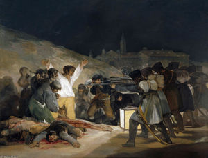 Francisco De Goya - The Third of May 1808 (Execution of the Defenders of Madrid)