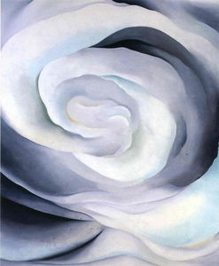 Georgia Totto O'keeffe - Abstraction White Rose