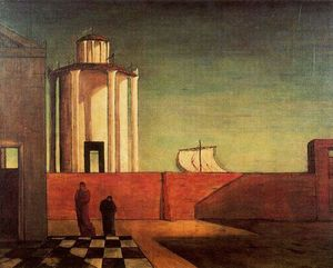 Giorgio De Chirico - The Enigma of the Arrival and the Afternoon