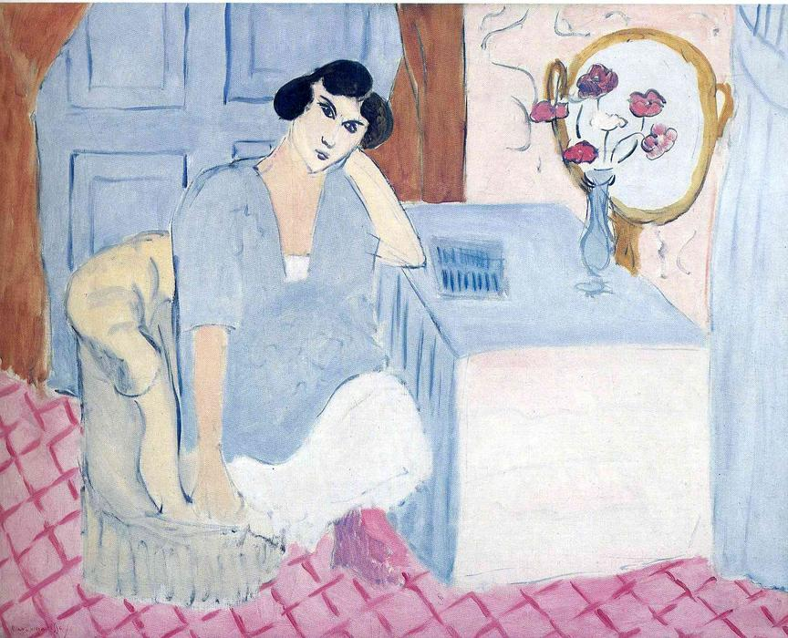 famous painting not identified (8) of Henri Matisse