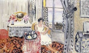 Henri Matisse - Woman by a Window