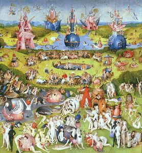 Hieronymus Bosch - The Garden of Earthly Delights (detail) (12)