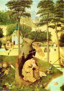 Hieronymus Bosch - The Temptation of St Anthony (detail)