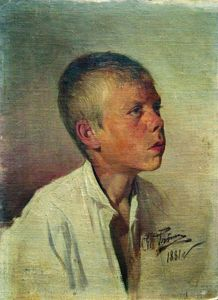 Ilya Yefimovich Repin - Portrait of a Boy