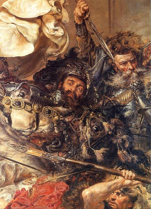 Order Reproductions | Battle of Grunwald (detail) (10) by Jan Matejko | Most-Famous-Paintings.com