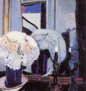 Jan Sluyters - Hat with flowers
