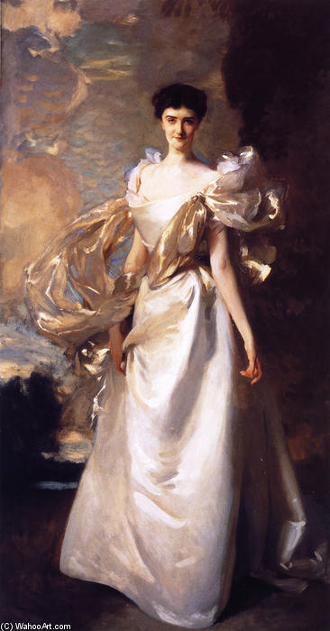 famous painting Margaret Hyde, 19th Countess of Suffolk of John Singer Sargent