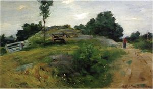 Julian Alden Weir - Connecticut Scene
