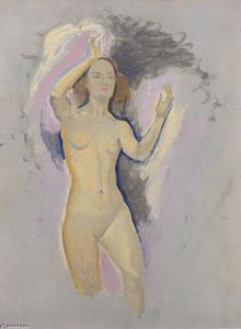 Koloman Moser - Study for Venus in the Grotto