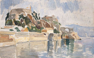 Konstantinos Parthenis - Kerkyra, The Old Fortress