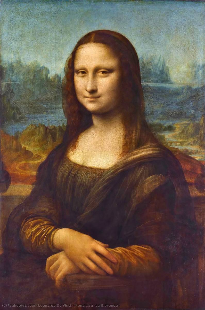 Order Reproductions | Mona Lisa (La Gioconda) by Leonardo Da Vinci | Most-Famous-Paintings.com