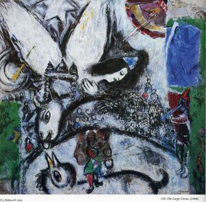 Marc Chagall - The Big Circus