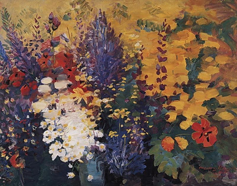 famous painting May flowers of Martiros Saryan