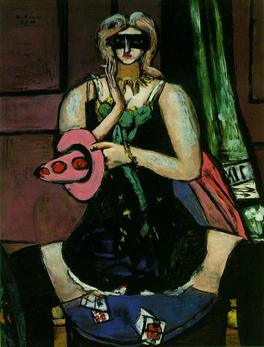 Order Art Reproductions : Columbine by Max Beckmann | Most-Famous-Paintings.com