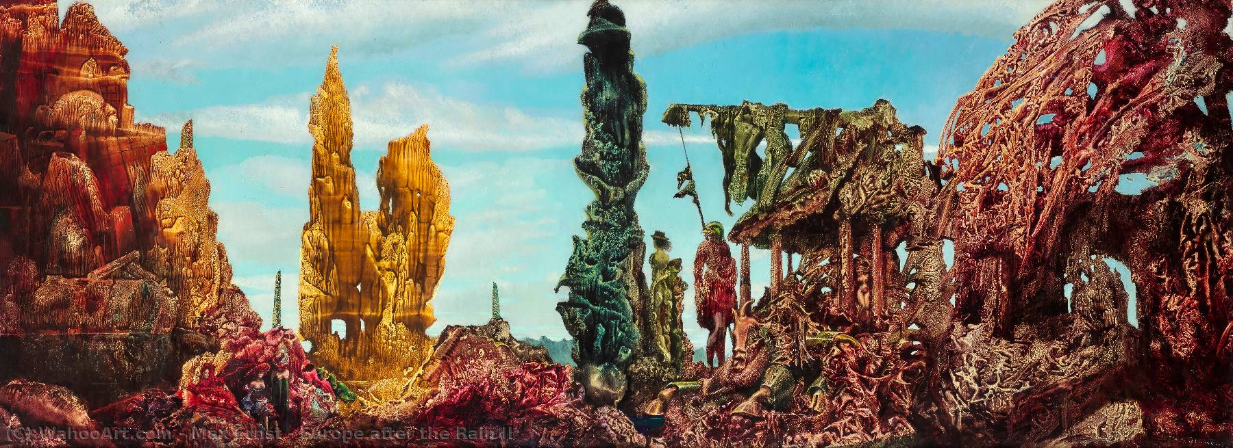 | Europe after the Rain II by Max Ernst | Most-Famous-Paintings.com