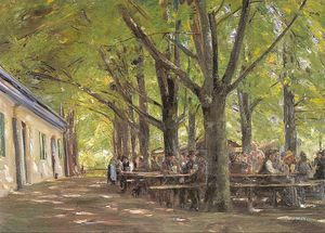 Max Liebermann - A Country Brasserie, Brannenburg, Bavaria