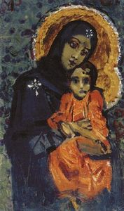 Mikhail Vrubel - Virgin and Child