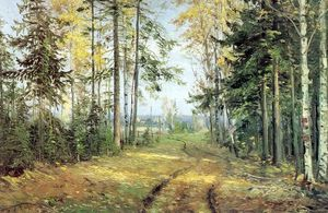 Nikolai Ge - The road into the forest