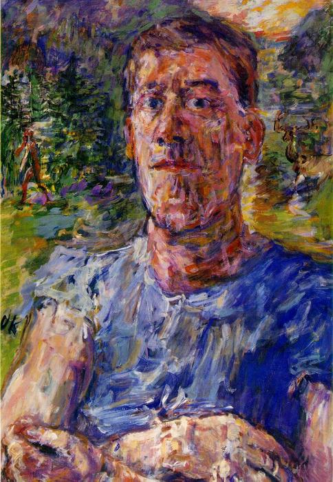 | Self-portrait of a 'Degenerate Artist' by Oskar Kokoschka | Most-Famous-Paintings.com