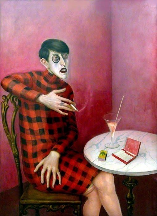 | Portrait of the Journalist Sylvia Von Harden by Otto Dix | Most-Famous-Paintings.com