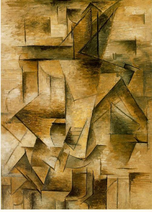 famous painting Guitar player of Pablo Picasso