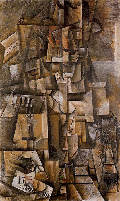 famous painting The aficionado (The torero) of Pablo Picasso