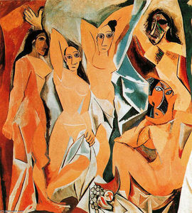 Pablo Picasso - The girls of Avignon