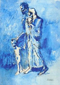Pablo Picasso - The family of blind man