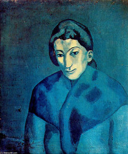 Pablo Picasso - Woman in a shawl