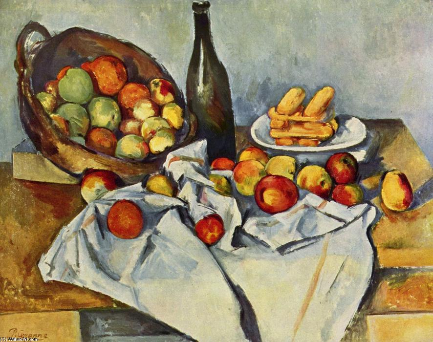 famous painting Basket of Apples of Paul Cezanne