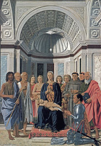 Piero Della Francesca - Madonna and Child with Saints