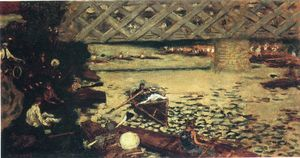 Pierre Bonnard - The rowing at Chatou