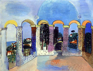 Raoul Dufy - Arcades at Vallauris