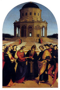 Raphael (Raffaello Sanzio Da Urbino) - The Marriage of the Virgin